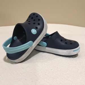 Crocs kids Crocband Clog Sz 8-9 Very GUC like new